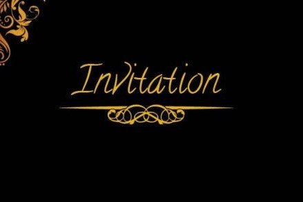INVITATION - Vignette