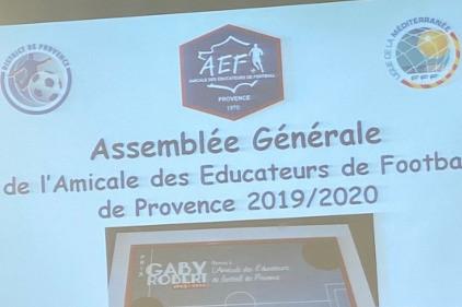 Assemblée Générale de l'Amicale des Éducateurs  de Football de Provence 2020 - Vignette