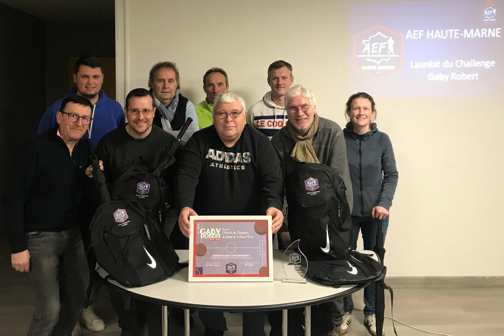 L'AEF Haute-Marne lauréate du challenge Gaby Robert ! - Vignette