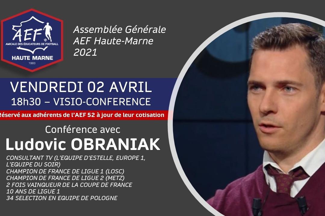 AG Elective & conférence en ligne avec Ludovic OBRANIAK ! - Vignette