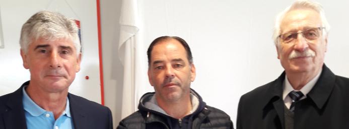 Honneur à Stéphane MOULIN, entraîneur du SCO ANGERS - Illustration